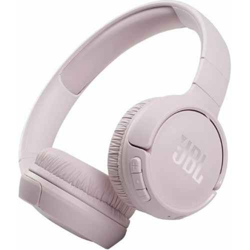 JBL Tune 510BT Rose On-Ear Bluetooth Headphones w Earcup control  (JBLT510BTROSEU)