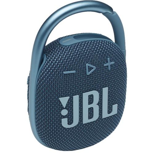 JBL Clip 4 Blue  Portable Bluetooth Speaker Waterproof IP67  (JBLCLIP4BLU)