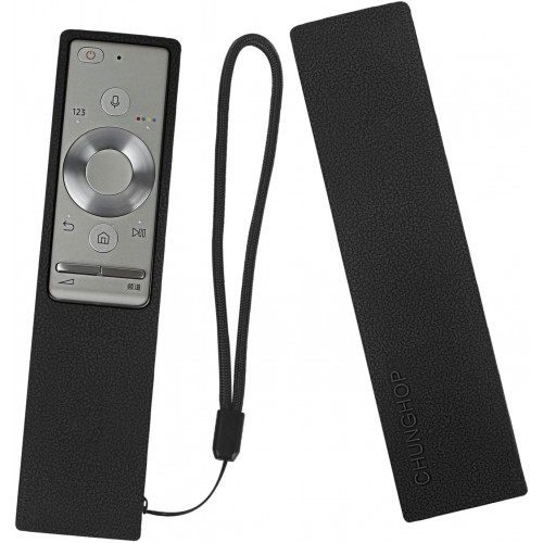 Θήκη σιλικόνης για Samsung BN59-01265A (RMCRMM1AP1) Smart TV Remote Black